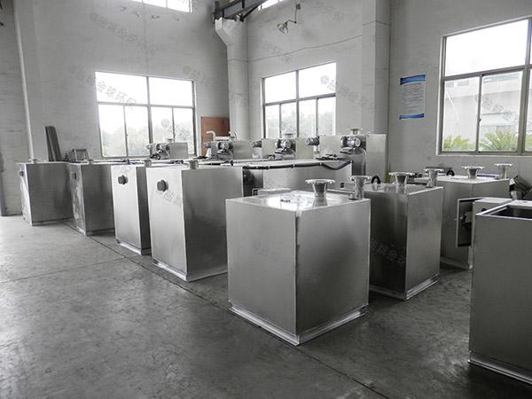 餐饮类室内大型组合式隔油除渣一体化设备样本