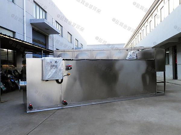 居家用户外自动刮油隔油池提升一体化设备安装