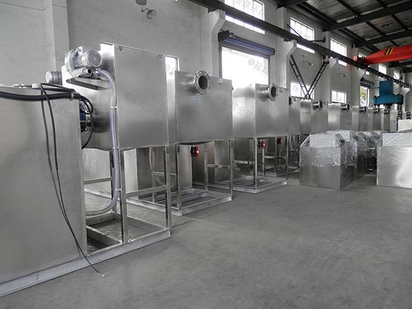 厨余户外大型分体式隔油成套设备制作