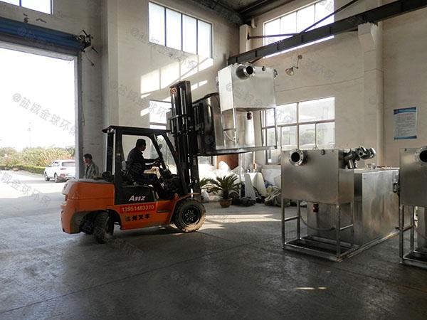 居民用大型地下室全能型隔油池提升设备改造方案