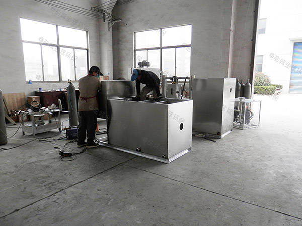 餐厨垃圾埋地全能型污水提升及隔油设备标准