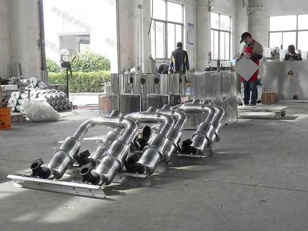 餐饮环保埋地式大全自动智能型一体化隔油池提升设备的构造