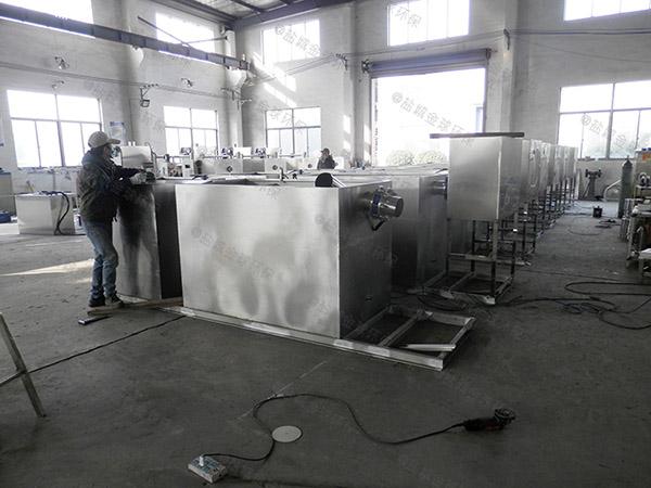 工厂食堂大地埋半自动餐厨垃圾油水分离设备市场分析