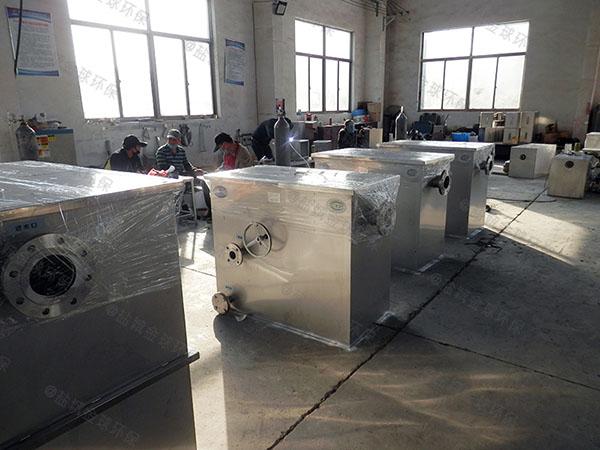 厨下型地上式分体式成品隔油池生产