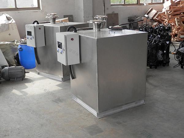后厨中小型地下式全自动智能型三相油水分离器市场前景