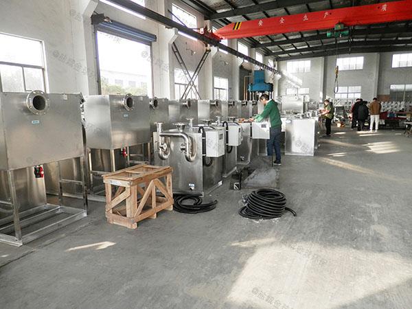 餐饮类大室内自动隔油污水提升一体化设备怎么选