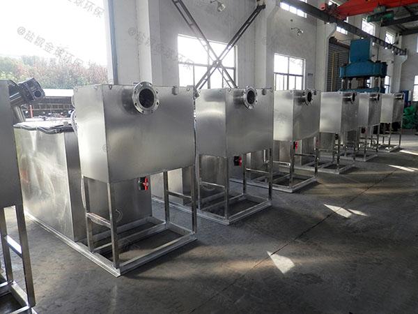 餐用大型机械隔油器技术参数厂家