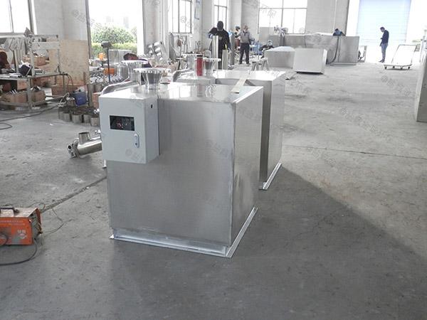 后厨地面式中小型智能化油水分离过滤设备种类