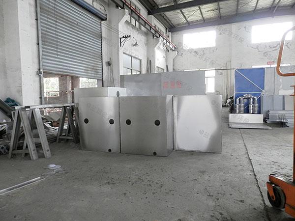 火锅专用大室内简易油水分离设计计算