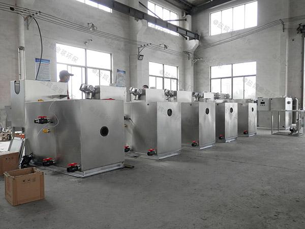 中餐大地埋移动隔油器提升设备施工方案