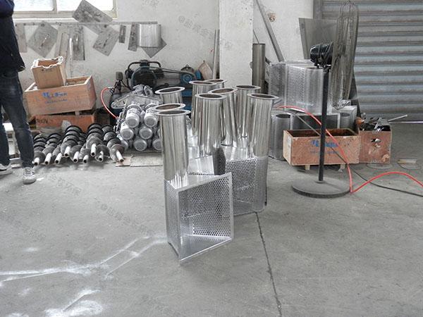 工程大型地上式简单油脂分离器要多少钱