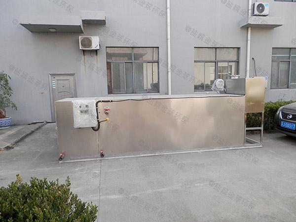 厨房用户外自动隔油提升装置价格图片