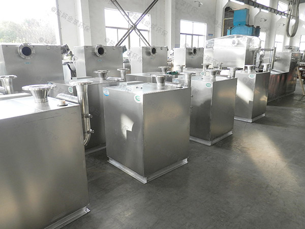工厂食堂地上式大全自动成品隔油处理器如何选型