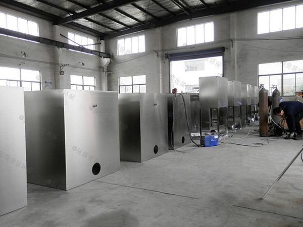 中餐地埋式移动式一体化隔油强排设备的种类