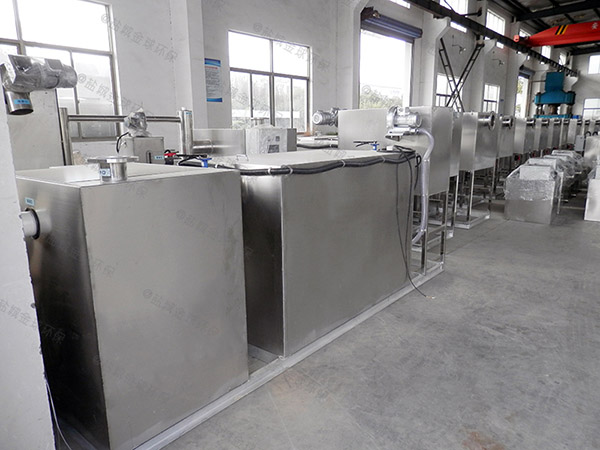 饭堂大地下式全能型油水分离提升设备的优点