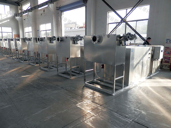 工厂食堂室内中小型智能化隔油分离器产品公示目录