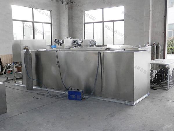 餐饮地下式大型自动除渣隔油沉淀池生产厂家
