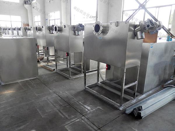 饭馆地下室中小型自动排水成品隔油处理器哪里有卖