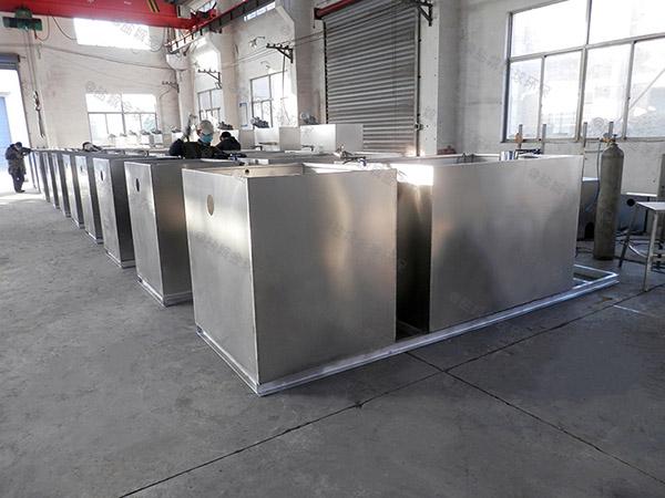 商用中小型地面式移动式下水隔油设备作用