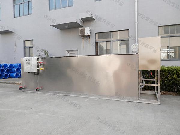 厨用大型地面机械三级油水分离器报告