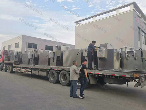 餐饮行业大地下室分体式油脂分离装置技术参数厂家