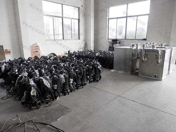 饭馆中小型室内简易污提及隔油设备改造厂家