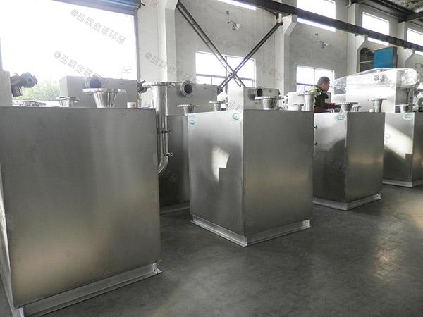 饮食业埋地式自动化油水分离提升设备生产商电话