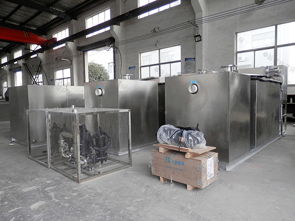 厨房埋地自动化气浮油水分离器怎样使用