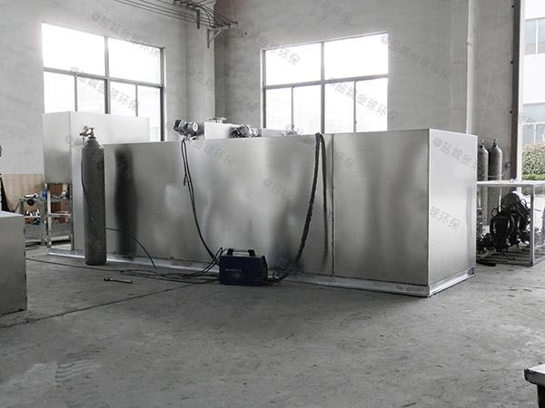 厨用中小型地埋式组合式水与油分离设备需要哪些设备