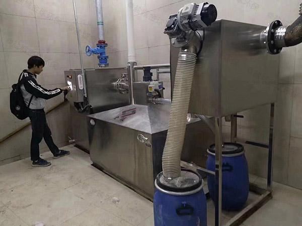 商家埋地式半自动隔油污水提升设备大小