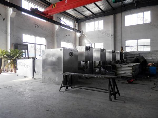 自己做火锅店新型地埋一体化油水分离装置