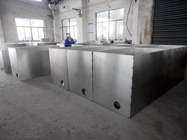 安装火锅店1000人地埋式污水隔油器