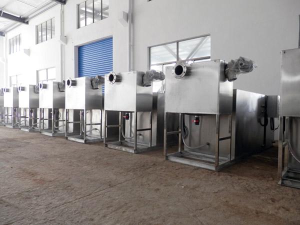 自制火锅专用1000人电加热污水处理油水分离器