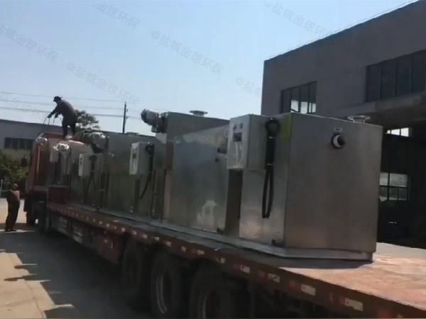 提供户外环保密闭式排水隔油器