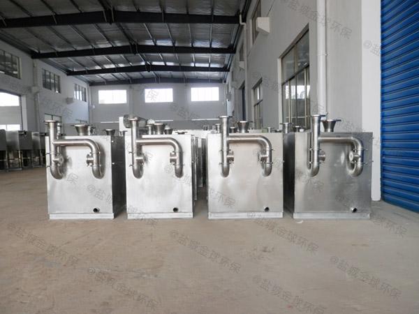 安装商场餐饮环保电加热污水提升及隔油设备