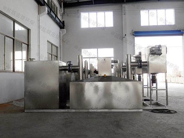 安装火锅专用1000人泔水油水分离过滤设备