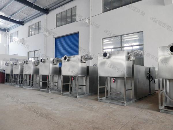 专业火锅专用500人压缩空气污水处理隔油设备