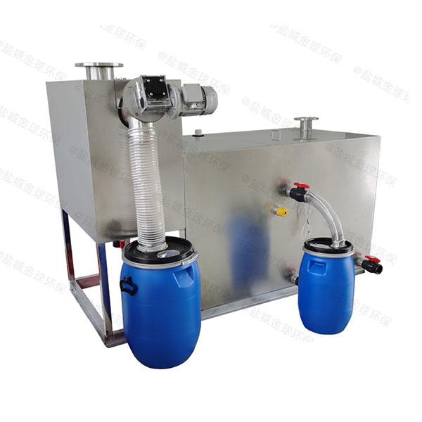 小区地面式简易油脂分离设备出厂价