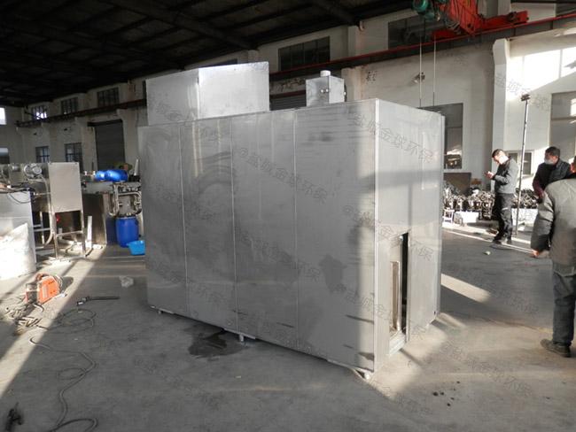 安装火锅店环保斜板油水分离处理装备