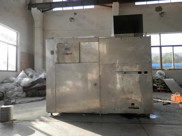 做火锅专用新款密闭式气浮隔油设备