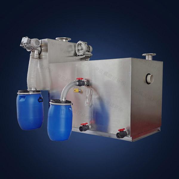 小饭店埋地全能型隔油污水提升设备研发