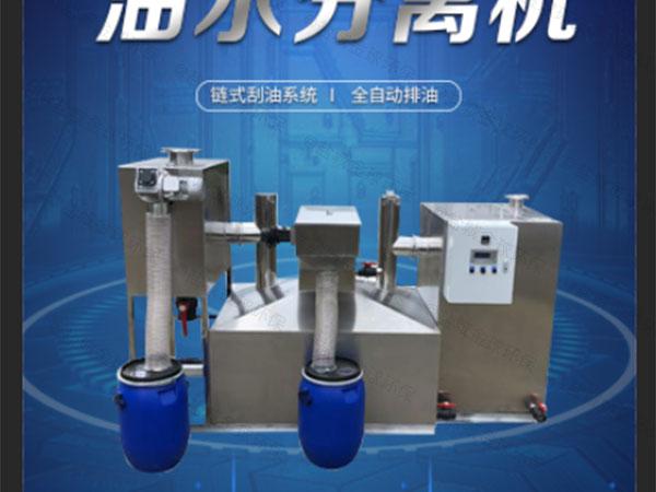 生活埋地式移动式油水分离提升设备安装