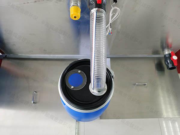 小区地上式半自动隔油装置出厂价格