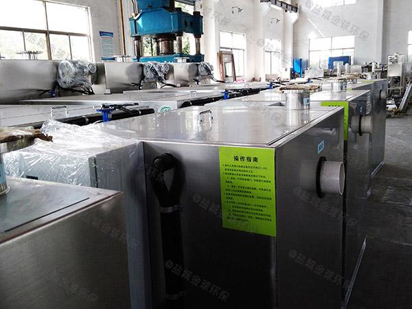 餐馆地埋式无动力污水处理隔油设备排行