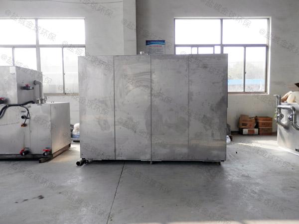大型5吨环保餐厨垃圾处理设备一体机种类齐全