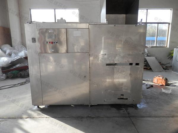 20吨自动上料餐厨垃圾烘干粉碎设备推荐