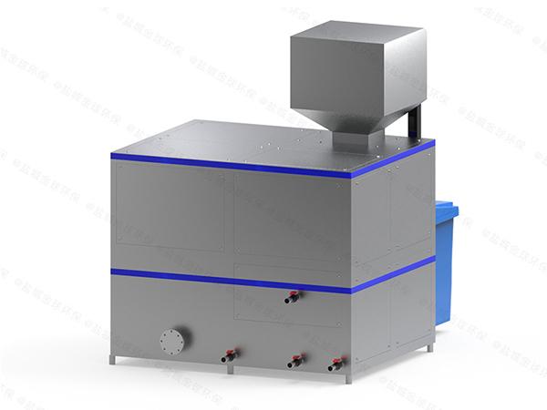 日处理10吨自动化厨余湿垃圾处理器工厂
