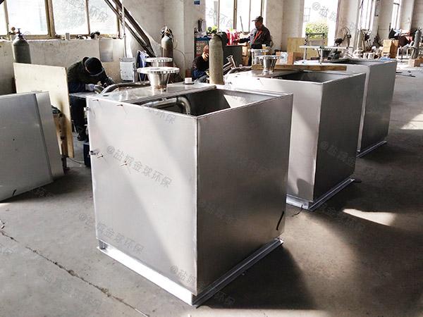 奶茶店小斜板水油分离装置技术参数厂家