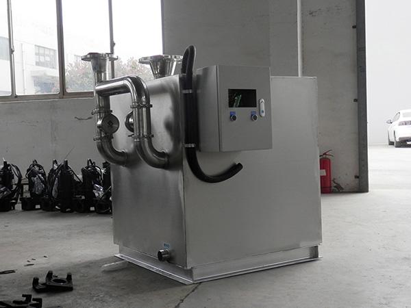 餐厅厨房中小型不锈钢强排油水分离器行业市场