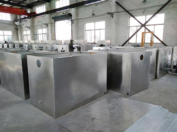 餐厅厨房小隔渣三相油水分离设备生产商
